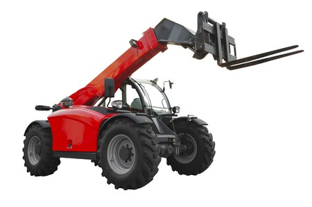 rough terrain telescopic handler truck